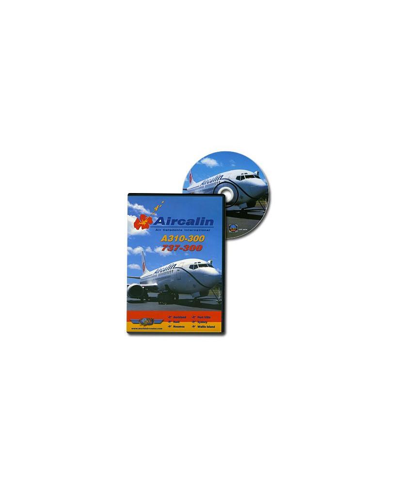 D.V.D. World Air Routes - Air Calin A310-300 B737-300