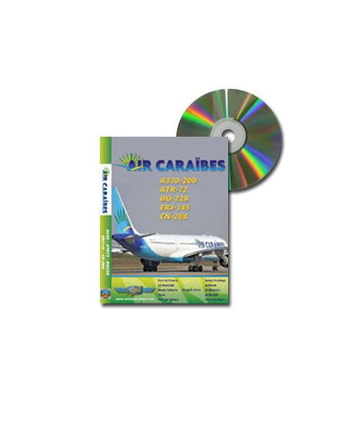 D.V.D. World Air Routes - Air Caraïbes A330-200