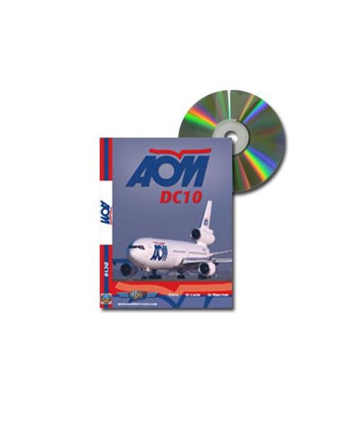 D.V.D. World Air Routes - AOM DC10