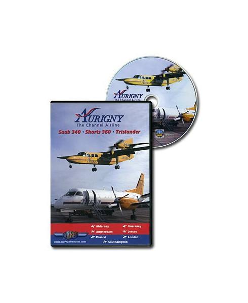 D.V.D. World Air Routes - Aurigny Saab340 - Shorts 360 - Trislander