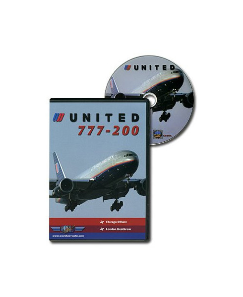 D.V.D. World Air Routes - United B777-200