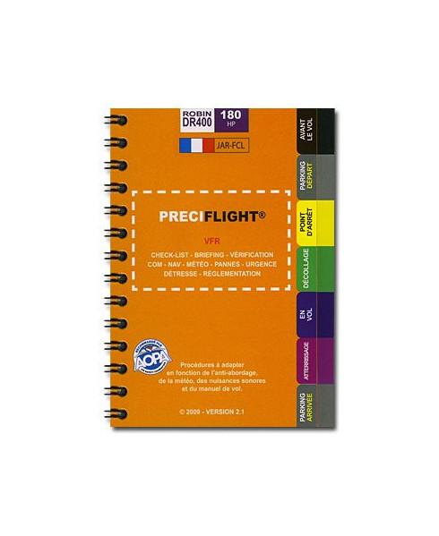 Checklist Preciflight DR400 - 180 CV