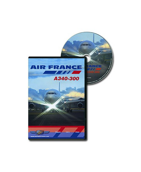 D.V.D. World Air Routes - Air France A340-300