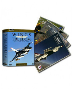 Coffret 4 D.V.D. Wings of freedom