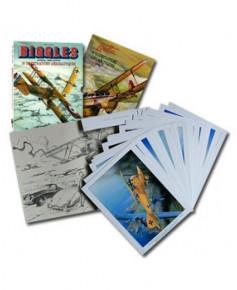 Biggles présente - 18 illustrations aéronautiques