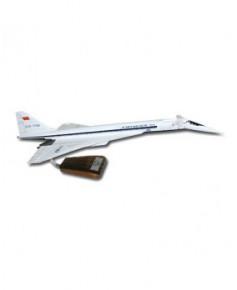 Maquette bois Tupolev Tu144 Aeroflot