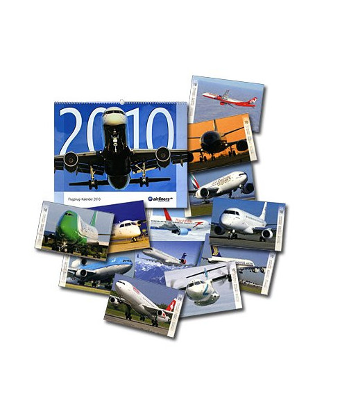 Calendrier Airliners 2010