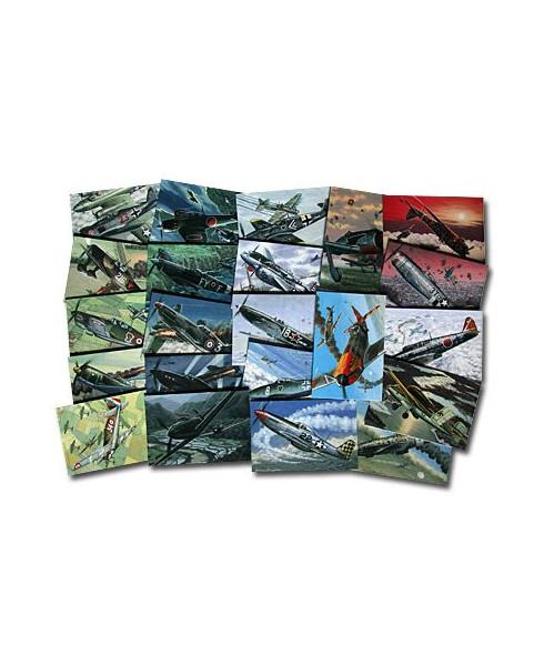 Lot Cartes postales chasseurs Seconde guerre mondiale
