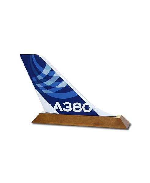 Dérive sur socle A380