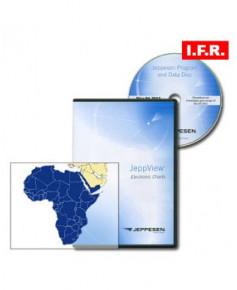 Logiciel et abonnement annuel Jeppview I.F.R. pour l'Afrique (AFR)