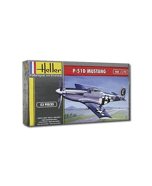 Maquette à monter P51 Mustang - 1/72e
