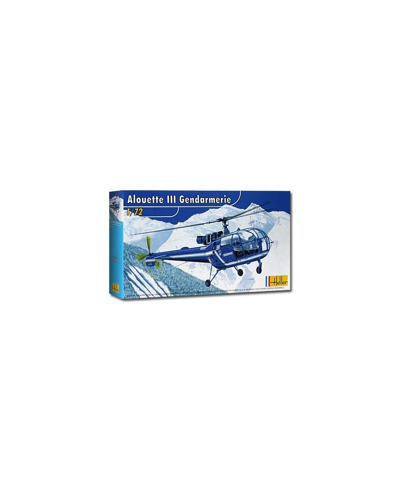 Maquette à monter Alouette 316 III Gendarmerie - 1/72e