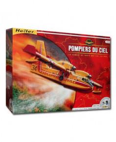 Coffret maquette à monter Pompier du ciel / Canadair - 1/72e
