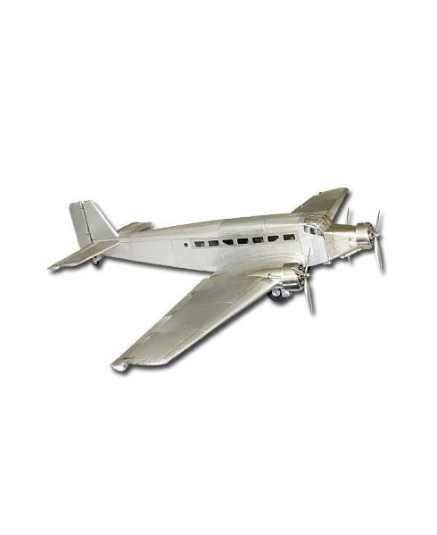 Maquette aluminium Junker JU52