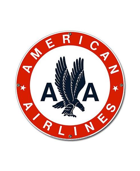 Plaque émaillée American Airlines