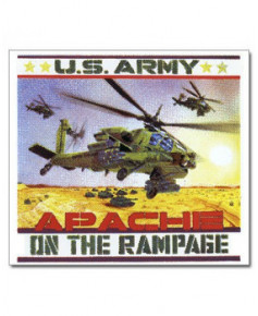 Magnet émaillé Apache on the rampage