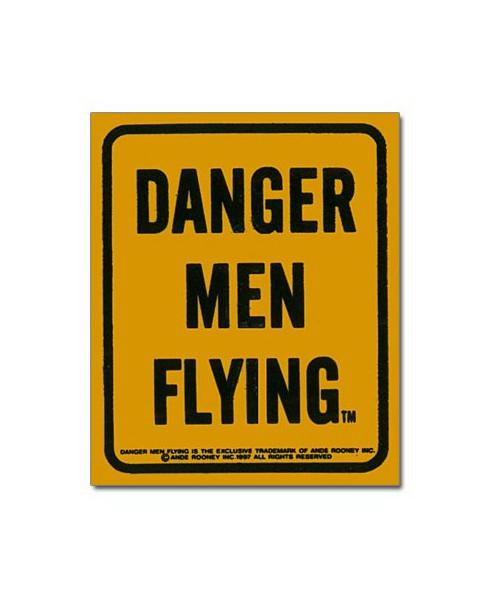 Magnet émaillé Danger men Flying