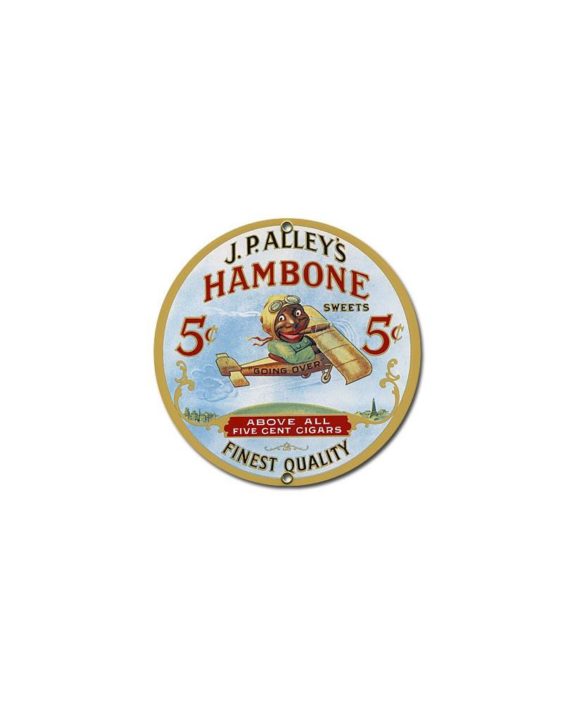 Plaque émaillée Hambone
