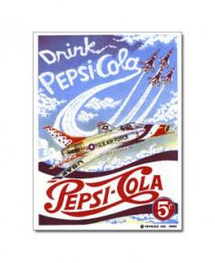 Magnet émaillé Pepsi-Cola Thunderbird