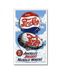 Magnet émaillé Pepsi-Cola Zeppelin