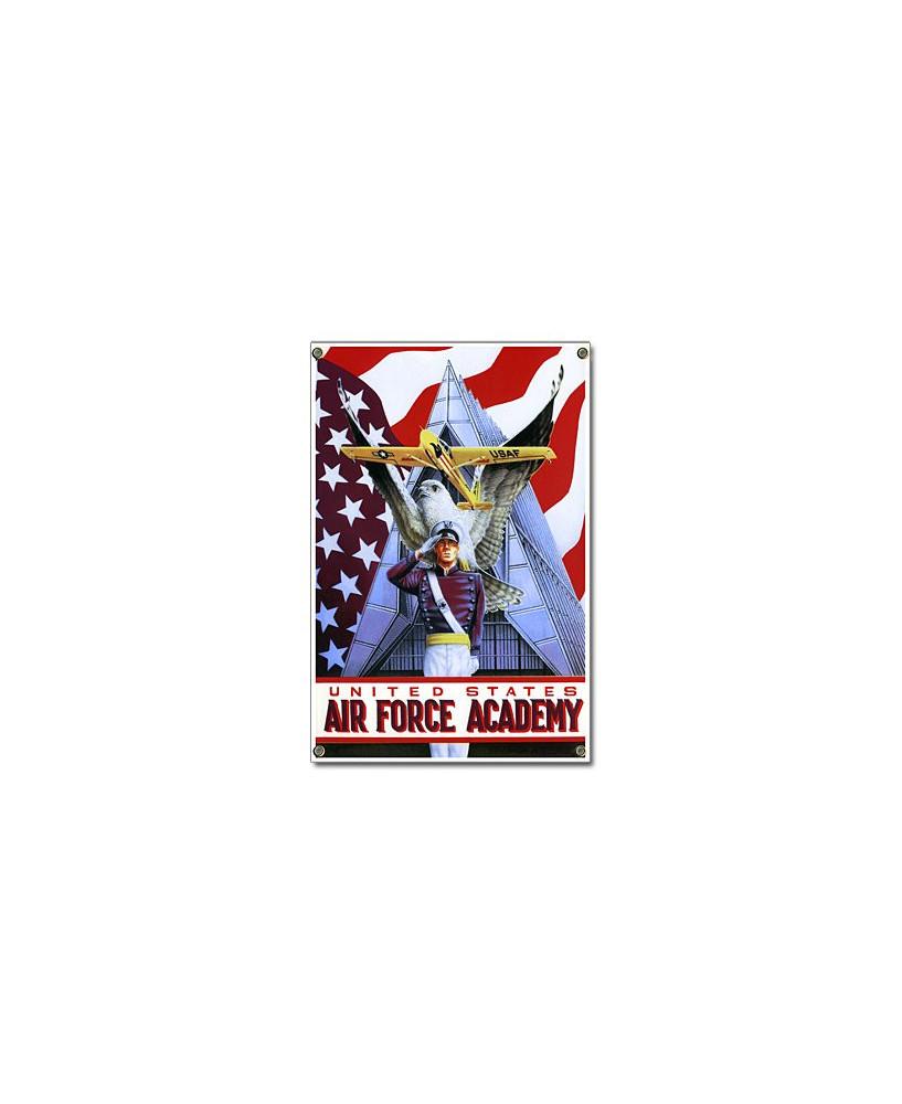 Plaque émaillée Air Force Academy