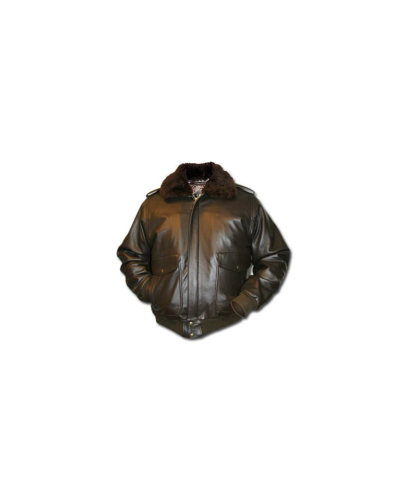 Blouson cuir Flight - Taille S