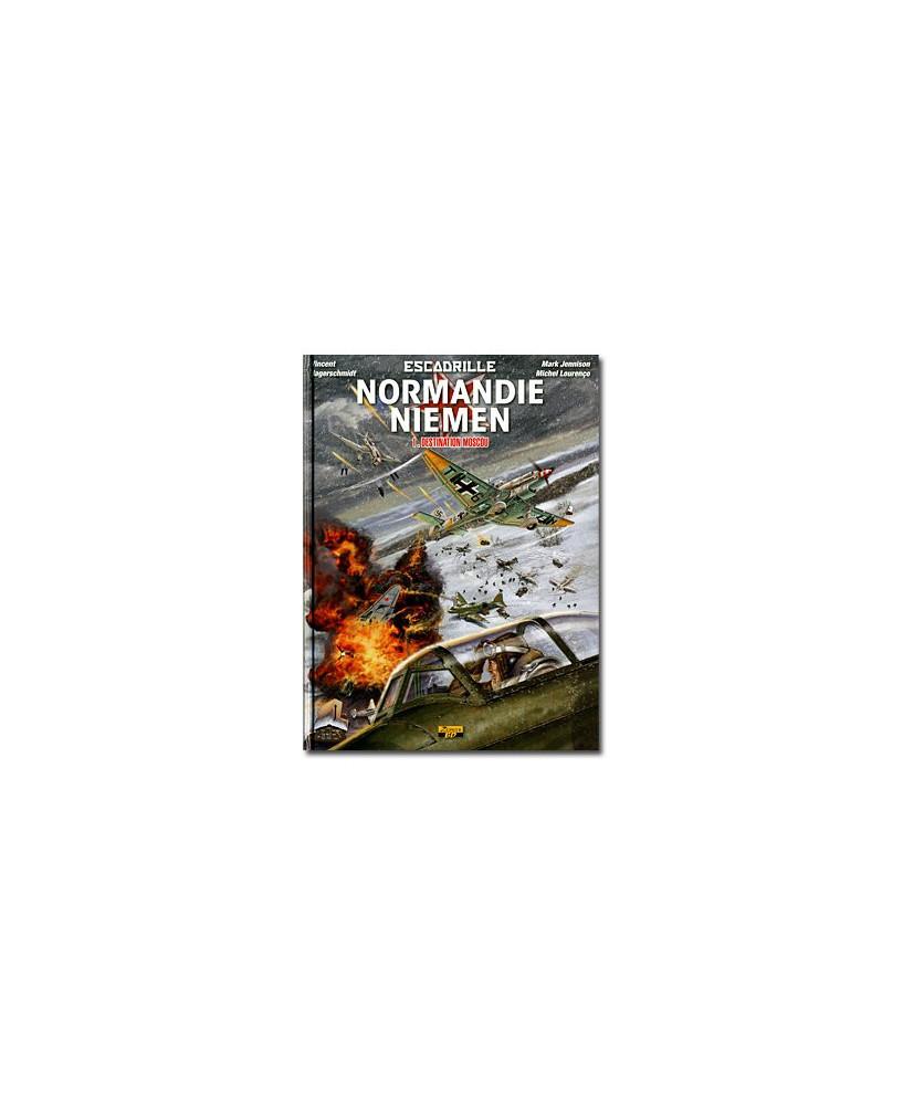 Escadrille Normandie-Niemen - Tome 1 : Destination Moscou