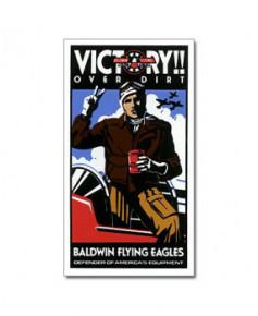 Magnet émaillé Victory
