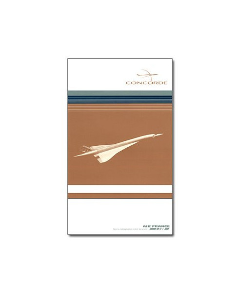 Guide passager Concorde