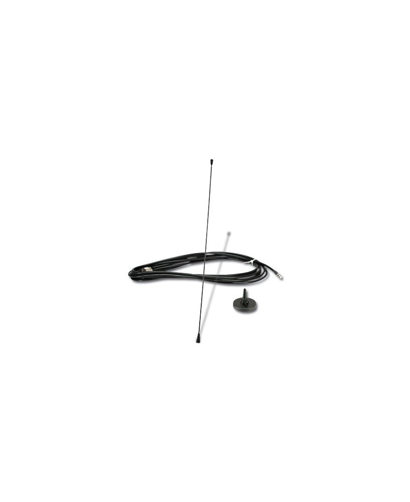 Antenne mobile sur base magnétique pour radio ICOM