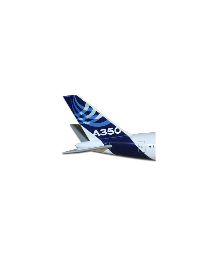 Maquette métal A350 XWB nouvelles couleurs Airbus 2010 - 1/400e