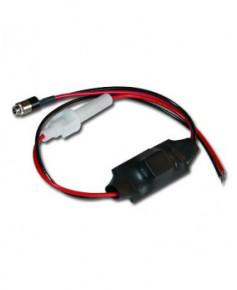 Câble d'alimentation fils nus 12V pour casque DRE 6000 (ancien système)