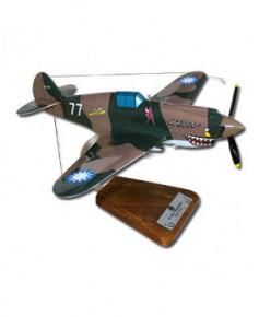Maquette bois Curtiss P40 Warhawk