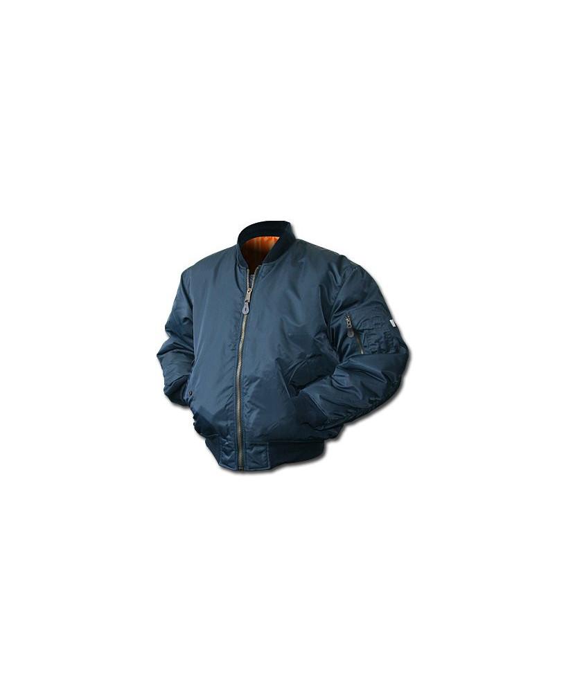 Blouson pilote bleu marine - Taille XL