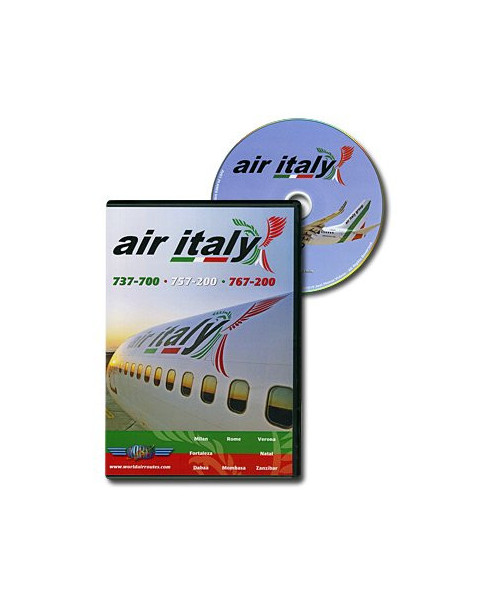 D.V.D. World Air Routes - Air Italy B737 B757 B767