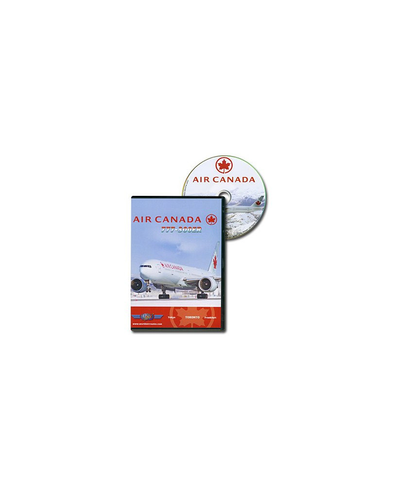 D.V.D. World Air Routes - Air Canada B777-300 ER