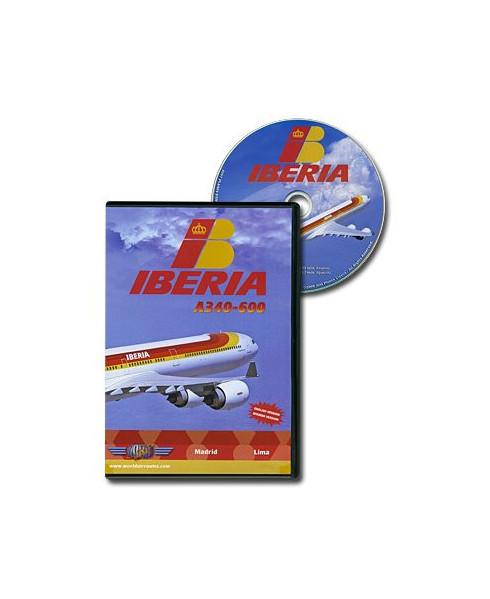 D.V.D. World Air Routes - Iberia A340-600