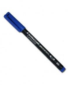 Feutre pointe moyenne - bleu
