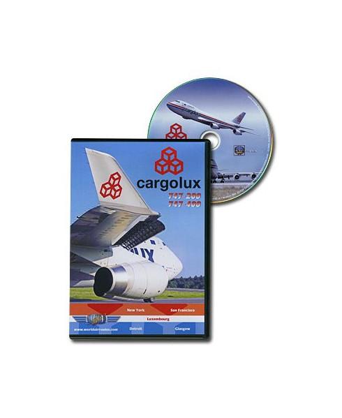 D.V.D. World Air Routes - Cargolux B747