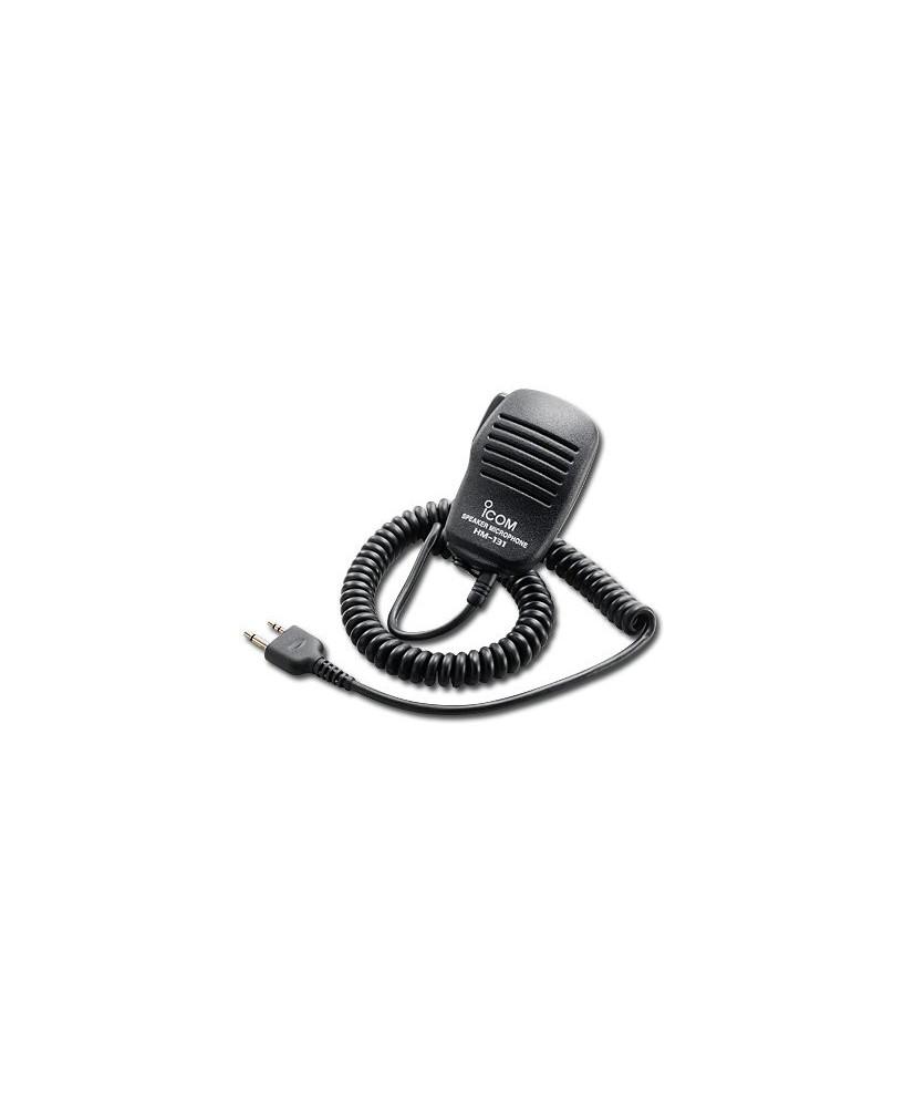 Micro à main pour radio ICOM - HM-131