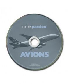 Avions : coffret passion (avec C.D.-ROM)