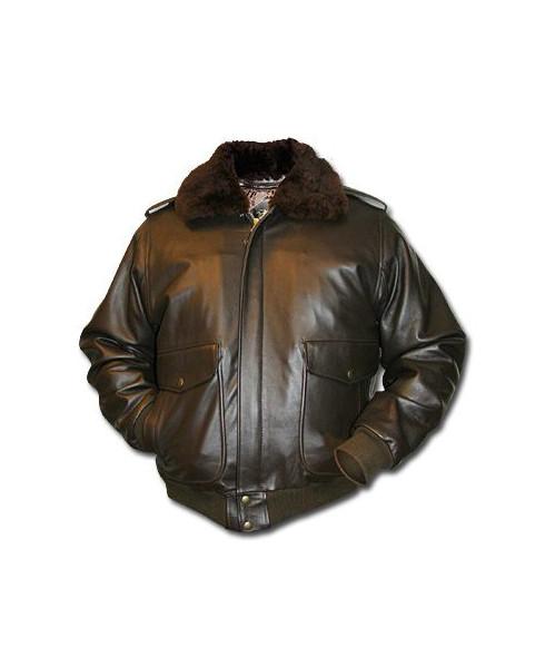 Blouson cuir Flight - Taille XXL