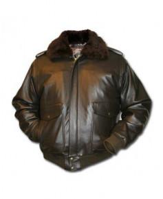 Blouson cuir Flight - Taille XXXL