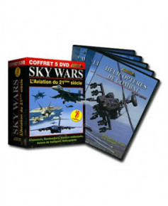 Coffret Sky Wars - 5 D.V.D. : L'aviation du 21e siècle