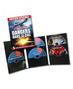 Coffret Dangers dans le ciel - 5 D.V.D.
