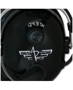 Casque APcom 124.97H (hélicoptère)