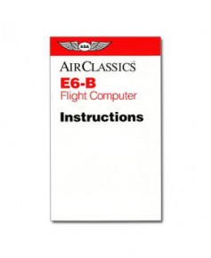 Computer de vol ASA E6-B - modèle bicolore