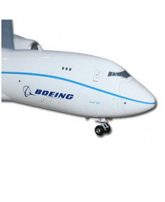 Maquette plastique B747-8F Lite Flight Test Livery - 1/200e