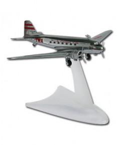 Maquette métal DC3 T.W.A. Lindbergh Line - 1/200e