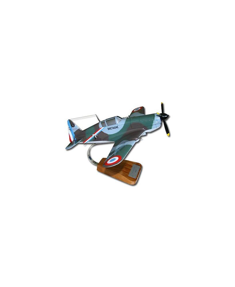 Maquette bois Morane Saulnier MS-406